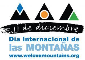 Bandera del Día Internacional de las Montañas www.welovemountains.org